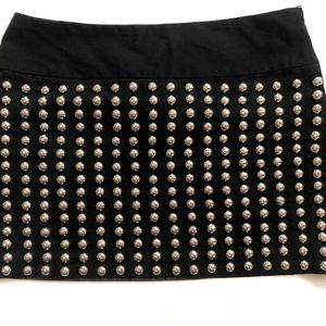 CANDIES Britney Spears Studded Black Skirt
